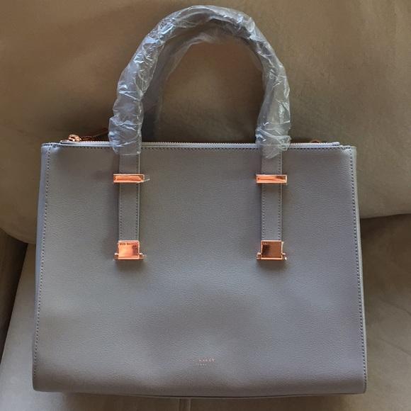 461f15b21869 Ted Baker Grey Adjustable Alunaa Tote